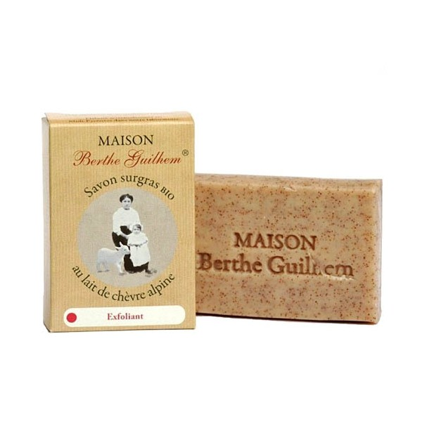 savon exfoliant bio Berthe Guilhem