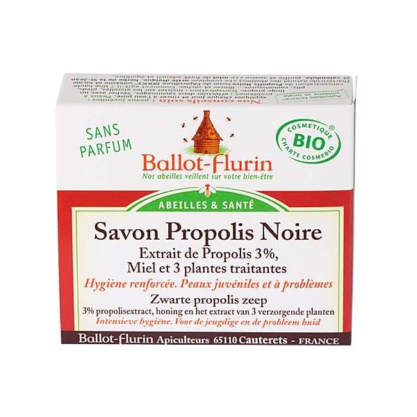 Savon Saponifié à Froid Propolis Noire