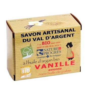Savon Artisanal à la Vanille et à l'Avoine