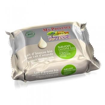 Savon lait d'ânesse bio 100% naturel