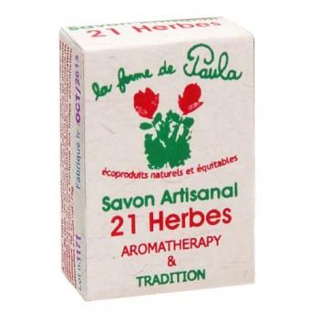 Savon Ayurvédique Artisanal 21 Herbes