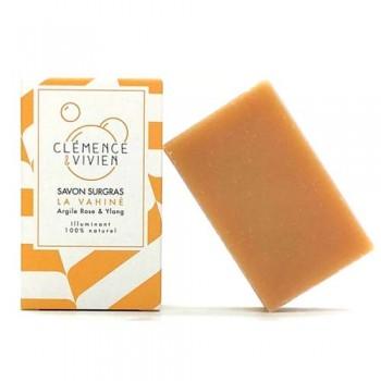 savon saponifié à froid peaux sensibles vahiné
